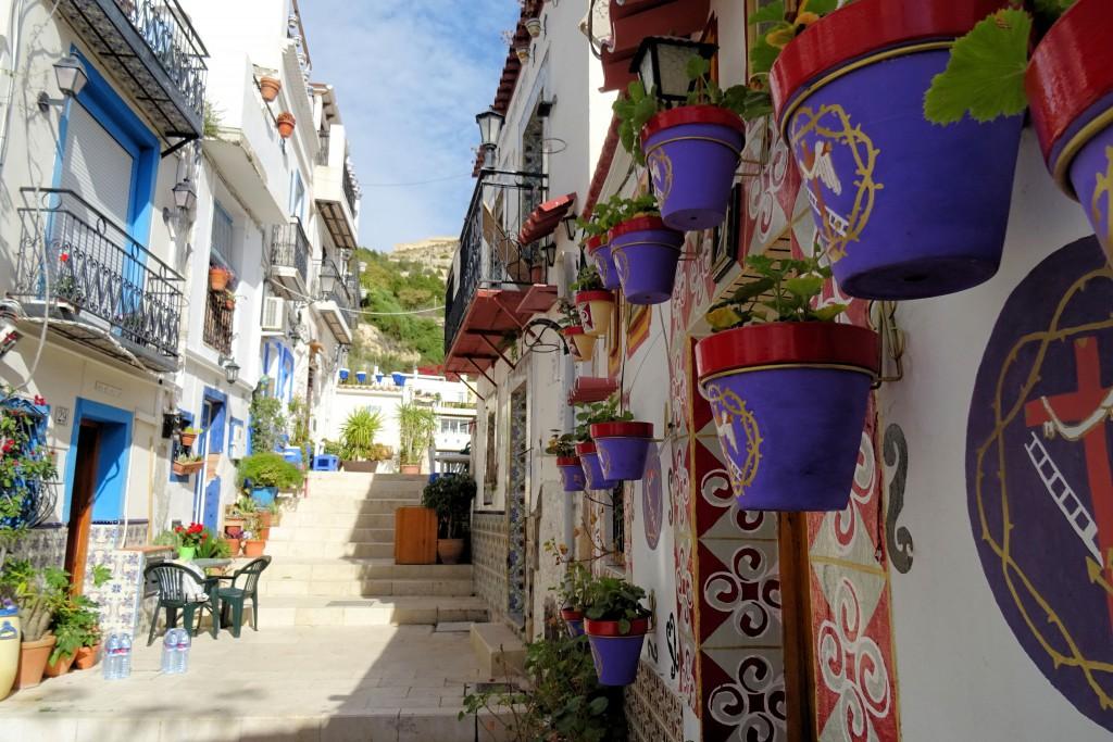 Alicante Costa Blanca El Barrio de Sante Cruz