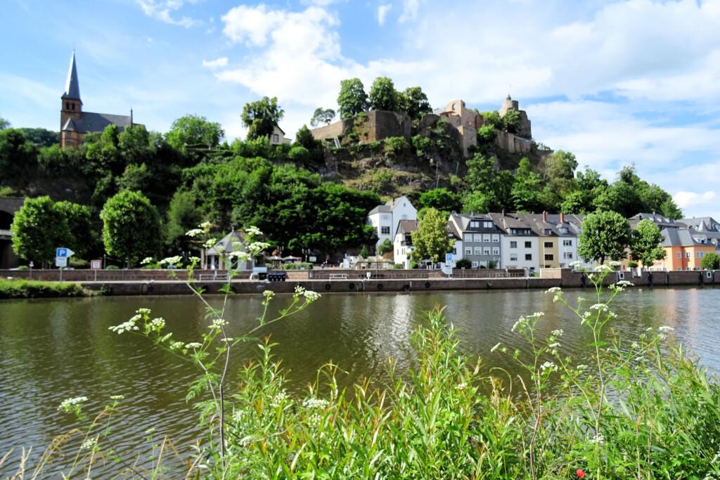 Burcht Saarburg Duitsland
