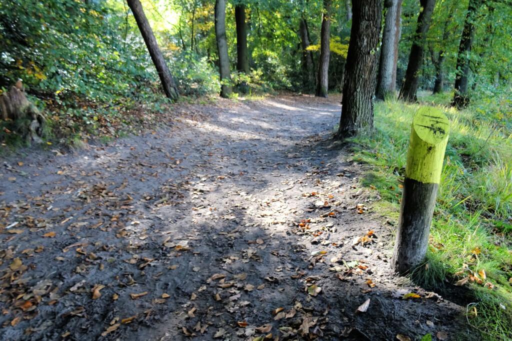gele wandelroute Appelbergen
