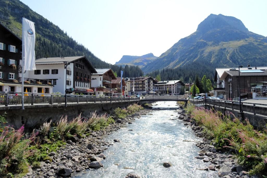 Lech Vorarlberg Oostenrijk
