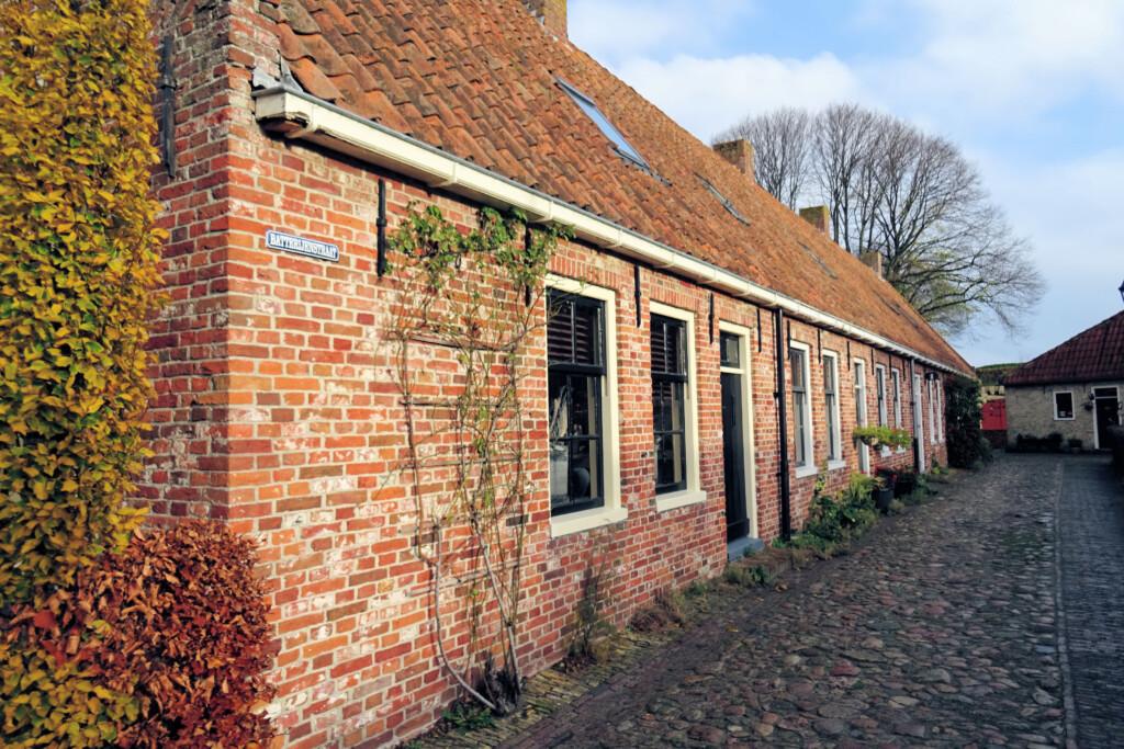 huizen vesting Bourtange