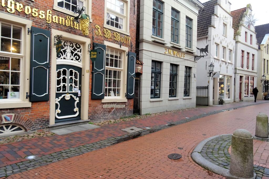 oude binnenstad Leer