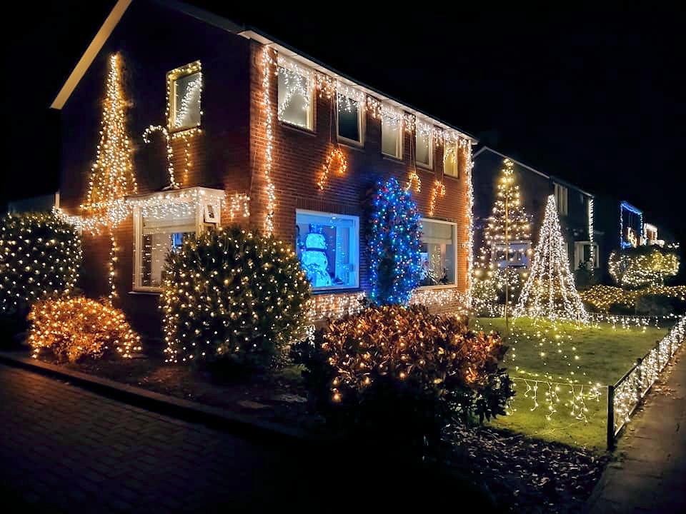 lichtjesroute Van Stolbergweg Veendam