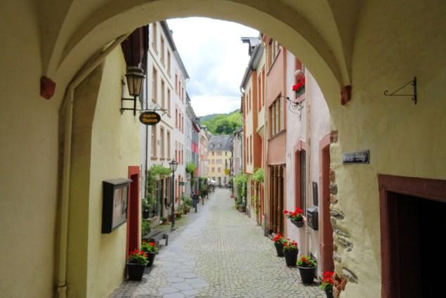 Toegangspoort Bernkastel Kues Duitsland Moezel