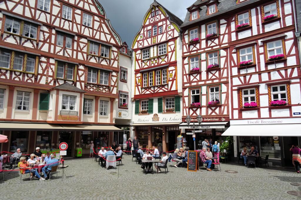 Marktplein Bernkastel Kues