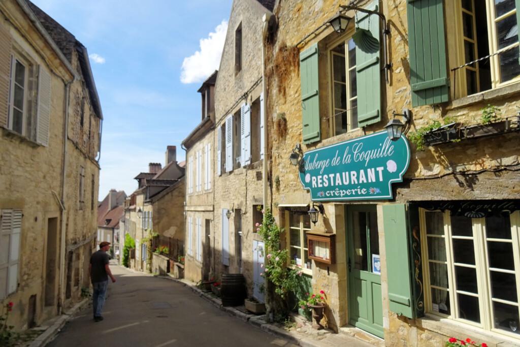 Vezelay Morvan Bourgogne Frankrijk