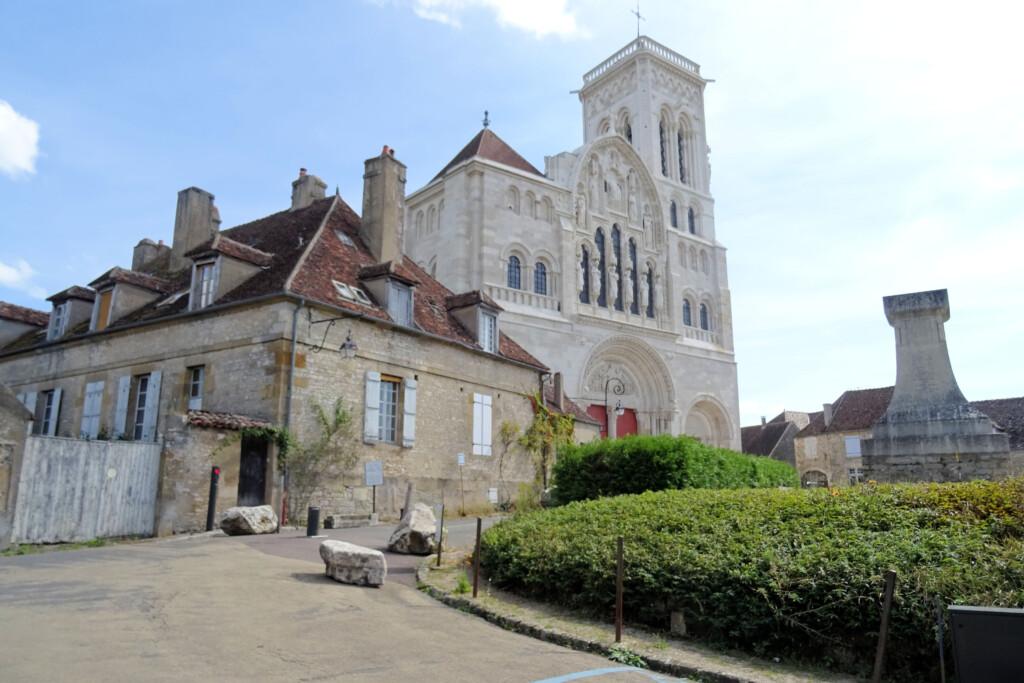 Basiliek Vezelay Morvan Frankrijk