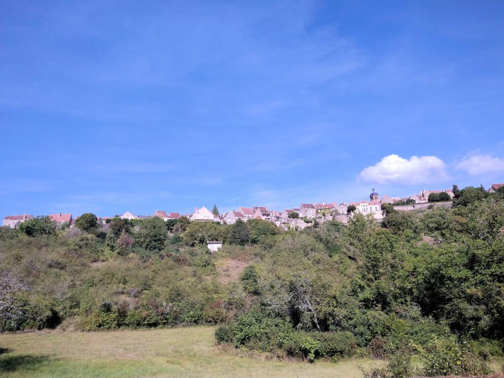 Vezelay Morvan Frankrijk
