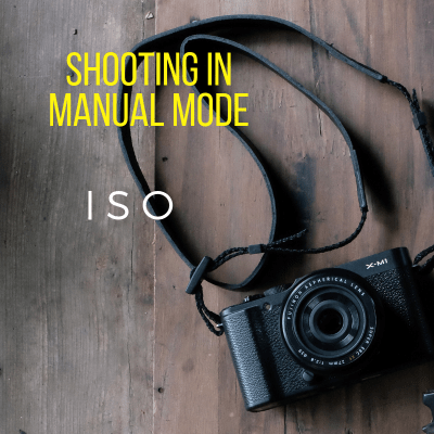 Shooting in manual mode: ISO
