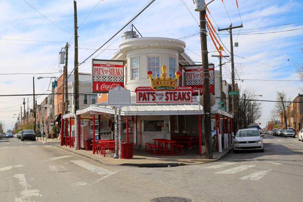 Pat's Steaks South Philadelphia