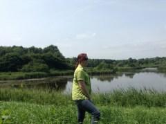 Wandelen in het Horsterwold Flevoland