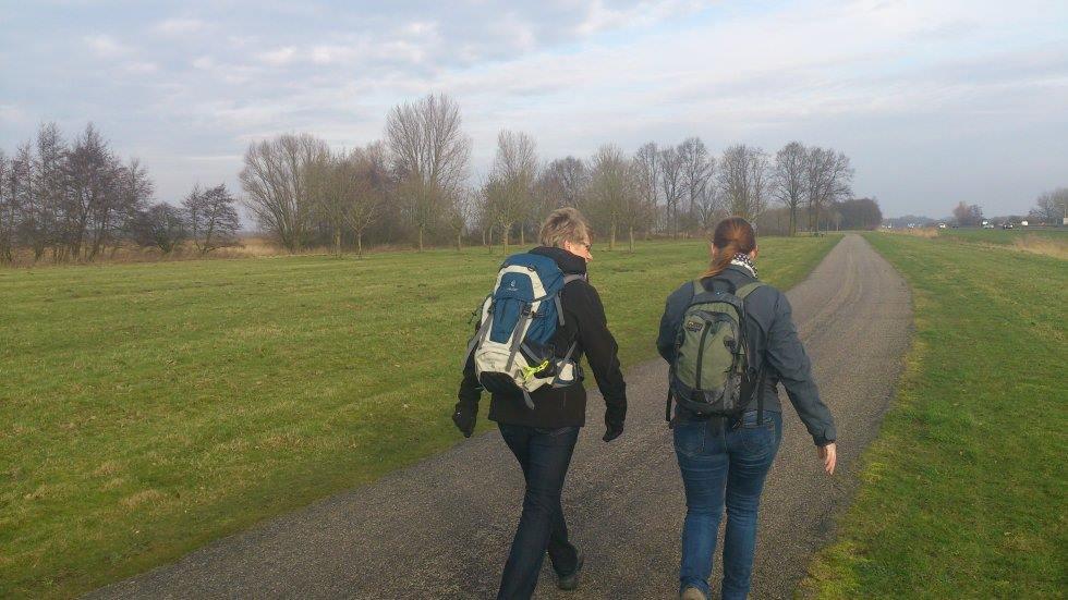 Wandelen met team BenBikkel