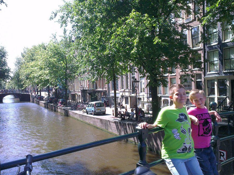 Pelgrimspad dwars door Amsterdam
