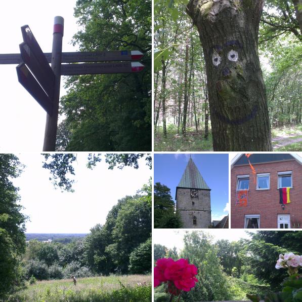 Marskramerpad van Oldenzaal naar Bad Bentheim