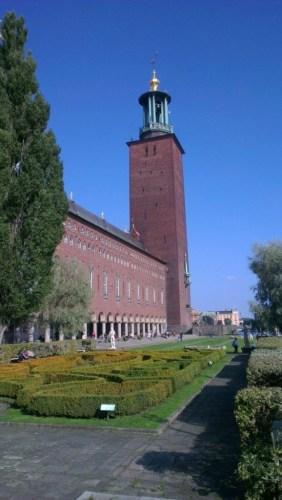 Wandelen door stockholm Stadshuset