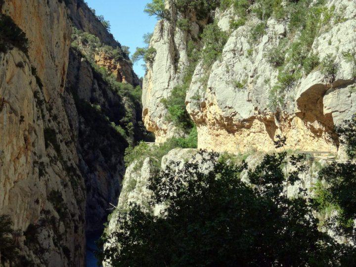 Wandelen Mont rebei kloof catalonië 12