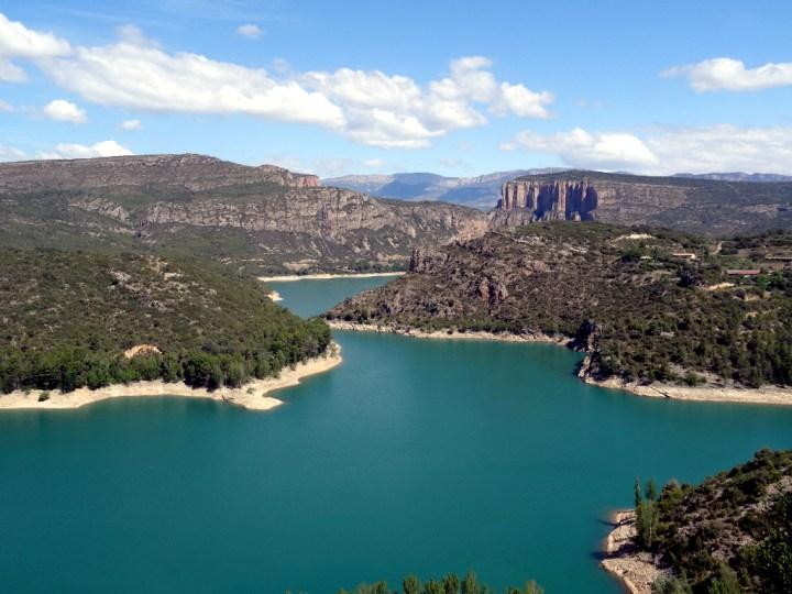 Uitzicht over meer Catalonië dag 1