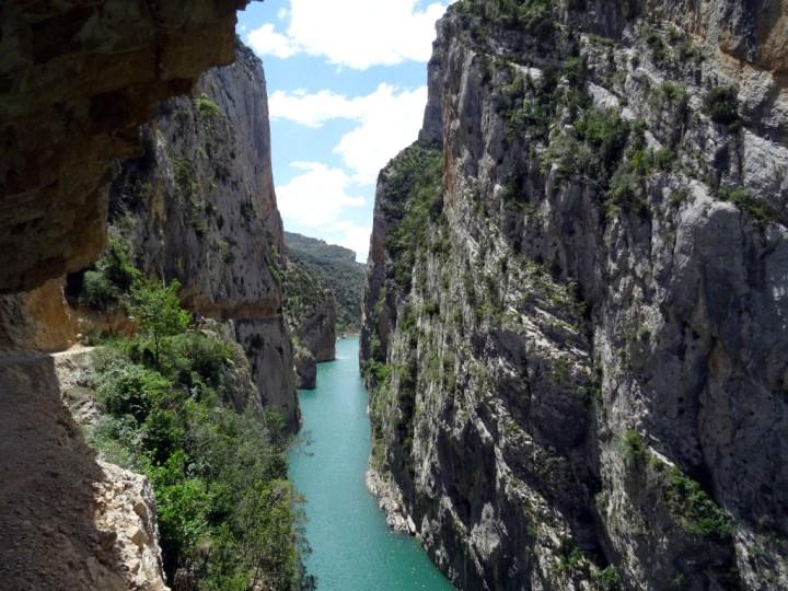 Wandelen Mont rebei kloof catalonië 4