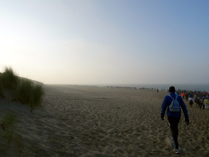 Wandel Kustmarathon Zeeland Strand