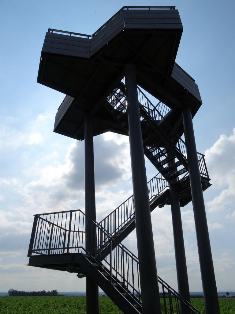 Uitkijktoren Mesch -Wandelen Vuursteenroute
