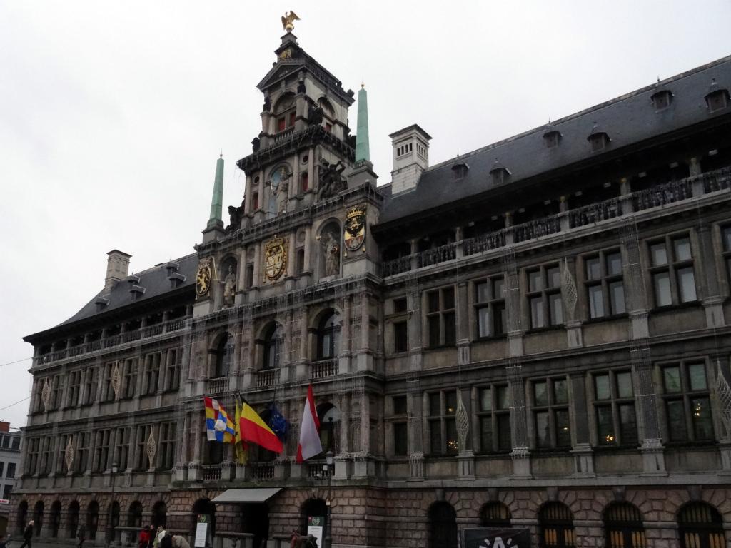 Stadswandeling Antwerpen Stadhuis