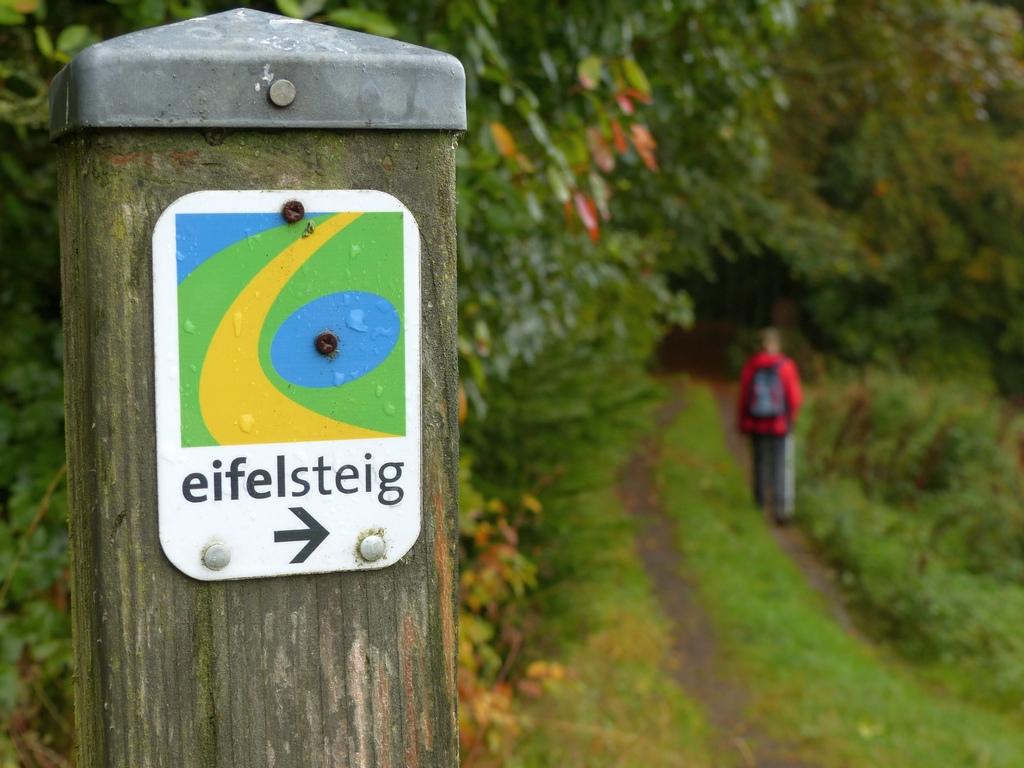 wandelen over de Eifelsteig in Duitsland
