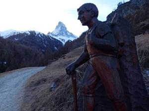 Wandelaar Matterhorn