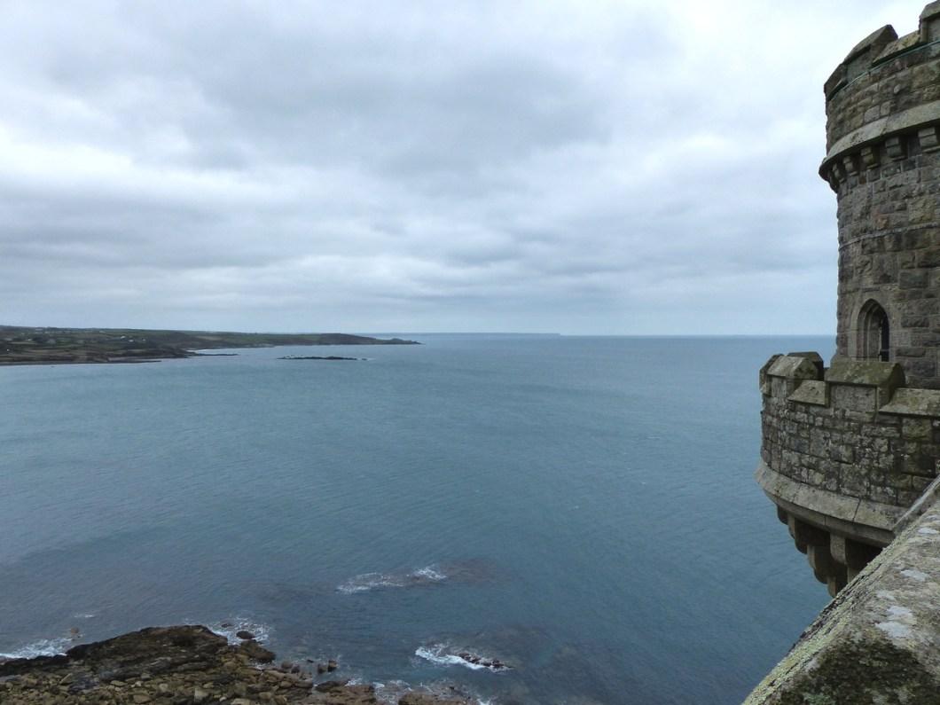 Uitzicht St. Michaels Mount - South West Coast Path