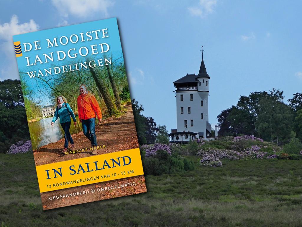 de mooiste landgoed wandelingen in Salland