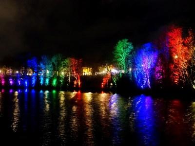 Scheveningen Light Walk bomen