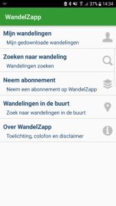Wandel app WandelZapp