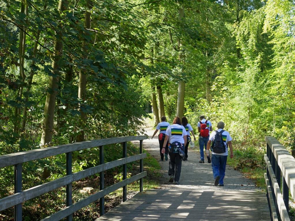12 Wandelaars Haagse Bos