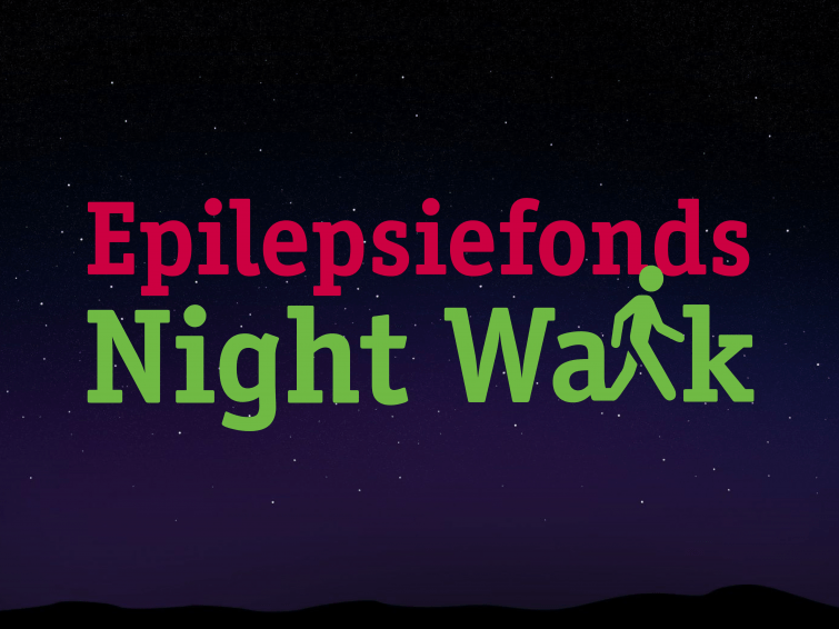Logo Epilepsiefonds Night Walk