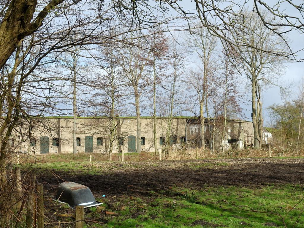 Fort bij Edam langs het Waterliniepad