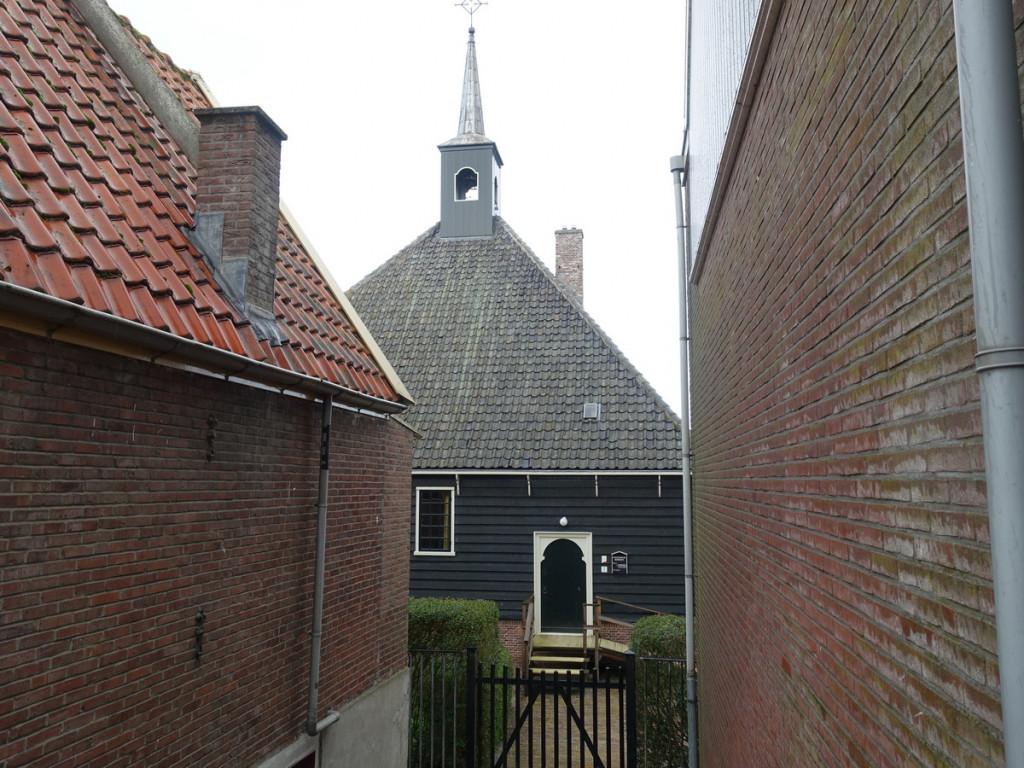 Waterliniepad Kerkje in Volendam