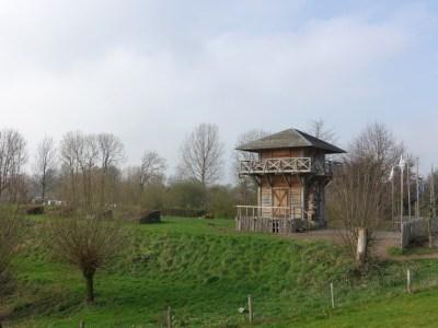 Romeinse Wachttoren aan de Nederrijn