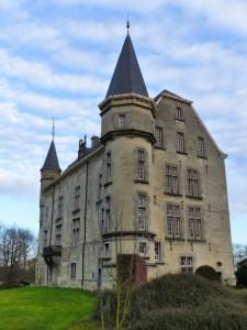 Kasteel Schaloen bij Valkenburg - Wandelroutes Zuid-Limburg