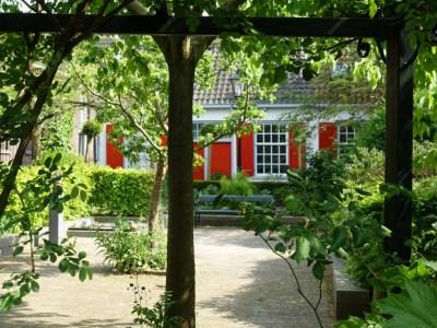 doorkijkje binnentuin in Utrecht