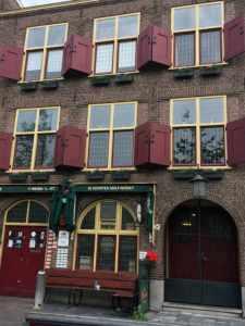 De Paas en huis van Jan van Goyen