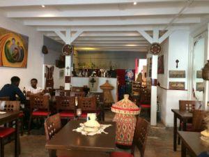 Mogogo Ethiopisch restaurant Prinsestraat