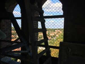Uitzicht vanuit de kerktoren