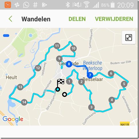 Laatste wandeltocht met WSV Prins Bernhard
