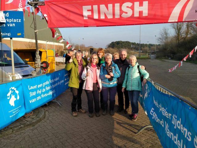 Wandel Marathon 2020 2e dag Egmond aan Zee