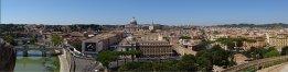 Uitzicht vanaf castel d'Angelo