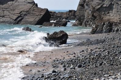 Sandy Mouth Beach Cornwall