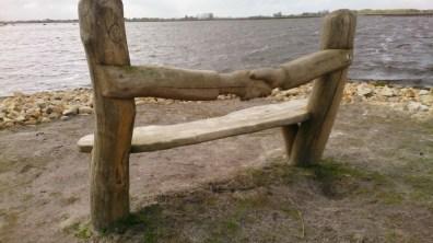 Wandelbankje April 2017 Dannemeer Schildwolde