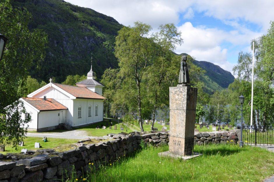 Noorwegen Grunge Kyrkje Telemark