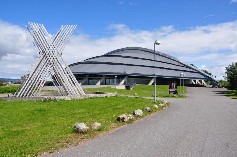 Noorwegen Vikingskipet Hamar