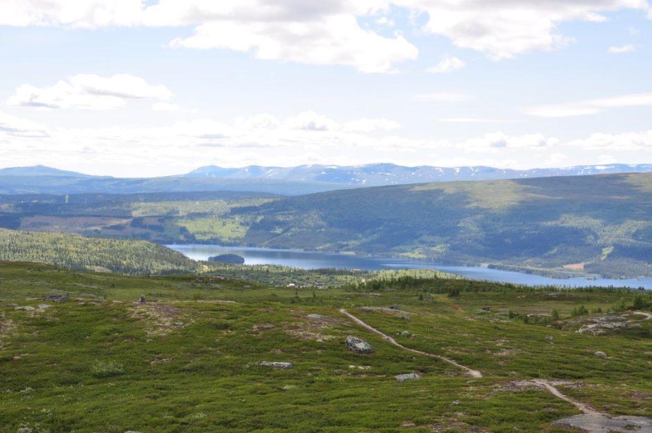Noorwegen wandeling Beitostolen