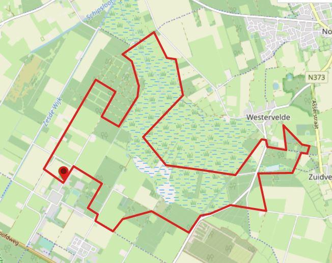 Wandelroute Veenhuizen